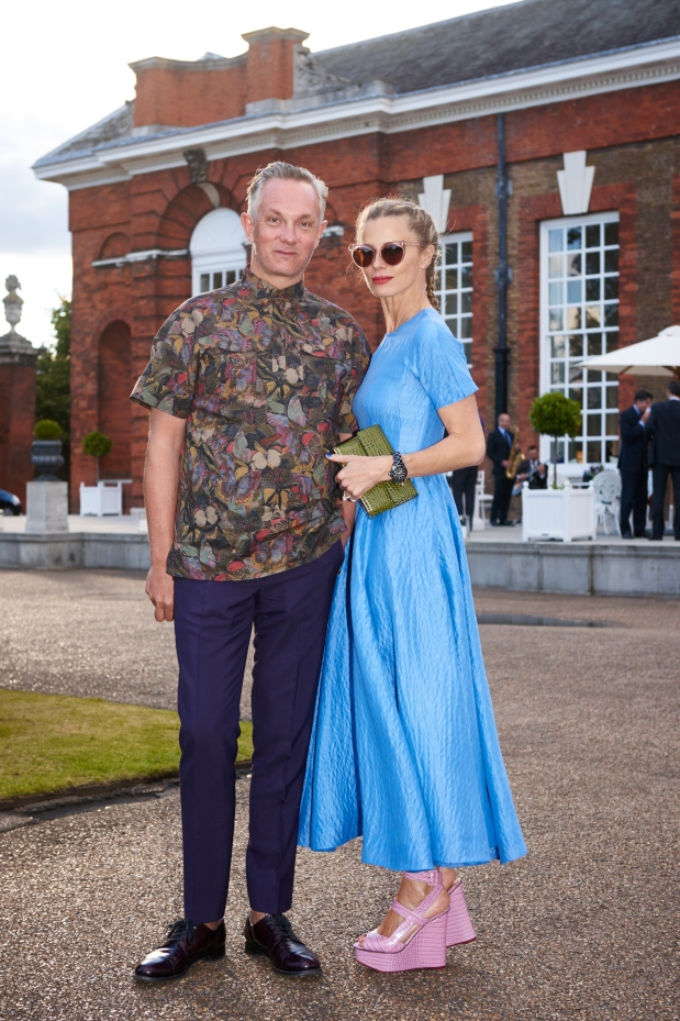 Ralph Lauren - Wimbledon Event - The Orangery - Kensington Palace 22nd June 2015 - LAURA BAILEY