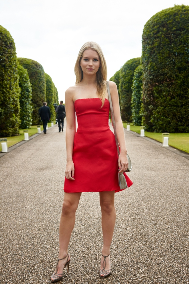 Ralph Lauren - Wimbledon Event - The Orangery - Kensington Palace 22nd June 2015 - LOTTIE MOSS