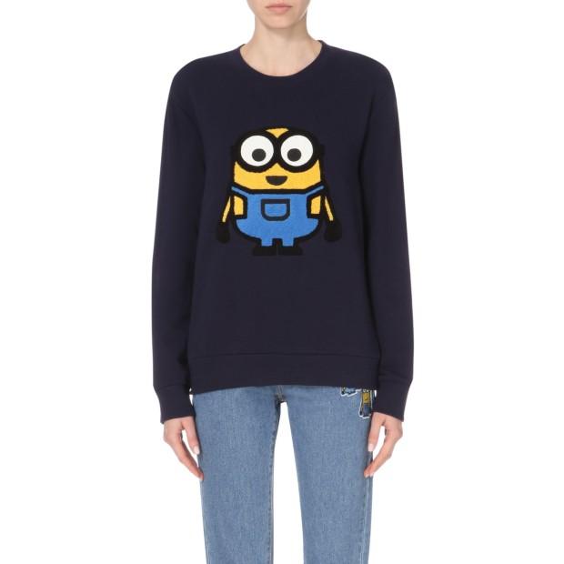 SELFRIDGES - Steve J & Yoni P Minions cotton-jersey sweatshirt_-ú175